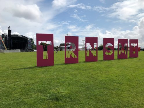 TRNSMT takes place at Glasgow Green from Friday to Sunday with 50,000 people expected each day (Douglas Barrie/PA)