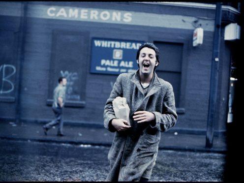 Paul McCartney in Glasgow in 1970 (Paul McCartney/Glasgow Life)