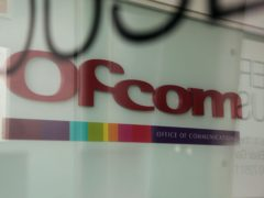 A sign at the offices of Ofcom (Yui Mok/PA)