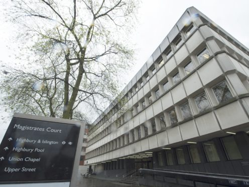 Highbury Corner Magistrates' Court in London (Anthony Devlin/PA)
