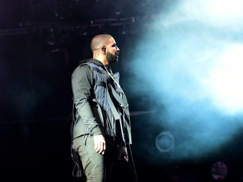 Drake performing at the Wireless Festivall in Finsbury Park, central London (Ian West/PA)
