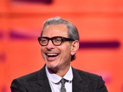 Jeff Goldblum complimented Gregory Porter's hands (Matt Crossick/PA)