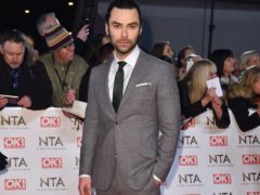 Aidan Turner (Matt Crossick/PA)