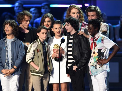 The cast of Stranger Things (PA)