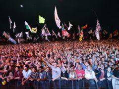 Fans at Glastonbury (Yui Mok/PA)