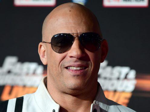 Vin Diesel stars in the latest film (Ian West/PA)