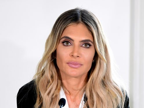 Ayda Field has spoken about her mother being diagnosed with Parkinson's disease (Ian West/PA)