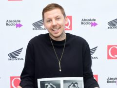 Professor Green is returning with new music and a tour following a neck fracture (Ian West/PA)