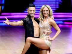 Faye Tozer and Giovanni Pernice on Strictly Come Dancing (Aaron Chown/PA)