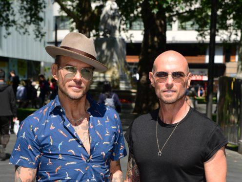 Matt and Luke Goss (Ian West/PA)