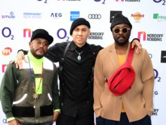 The Black Eyed Peas at the O2 Silver Clef Awards (Ian West/PA)