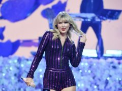 Taylor Swift took aim at 'liars and dirty cheats' during her Amazon Prime Day concert performance (Evan Agostini/Invision/AP)
