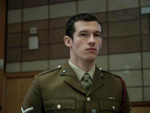 Callum Turner as Shaun Emery in The Capture (BBC)
