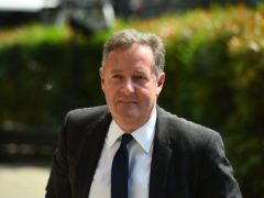 Piers Morgan's feud with Dan Walker continues (Kirsty O'Connor/PA)