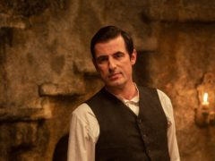 Claes Bang stars as Dracula in the new mini-series (Hartswood Films/Colin Hutton/BBC)