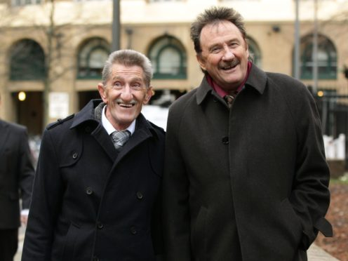 The Chuckle Brothers, Barry and Paul Elliott (Yui Mok/PA)