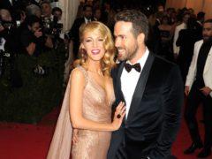 Blake Lively and Ryan Reynolds (Dennis Van Tine/PA)
