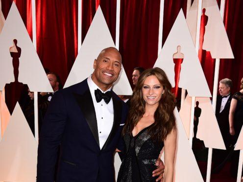 Dwayne 'The Rock' Johnson and Lauren Hashian got married over the weekend (Ian West/PA)