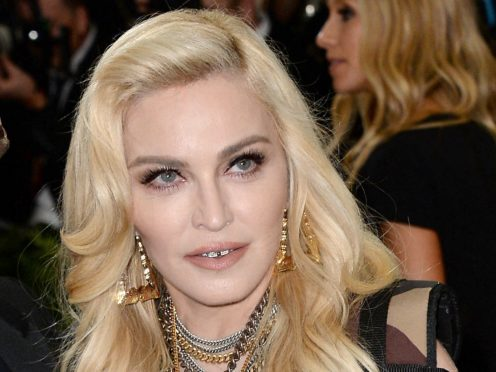 Madonna has shared her celebrations on Instagram. (Aurore Marechal/PA)