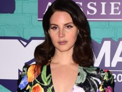 Lana Del Rey said the most recent spate of shootings had left her close friends 'very upset' (Ian West/PA)