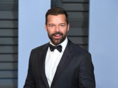 Ricky Martin has shared the first picture of his seven-month-old daughter, Lucia Martin-Yosef (PA)