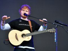 Ed Sheeran (Ben Birchall/PA)