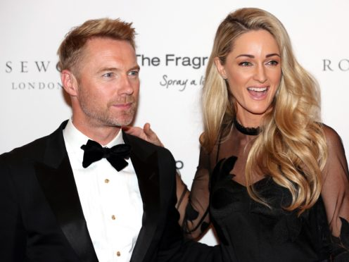 Ronan and Storm are celebrating their fourth wedding anniversary (David Parry/PA)