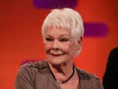 Dame Judi Dench will read a specially commissioned poem and unveil a mosaic of Dame Peggy by artist Helen Marshall (Isabel Infantes/PA)