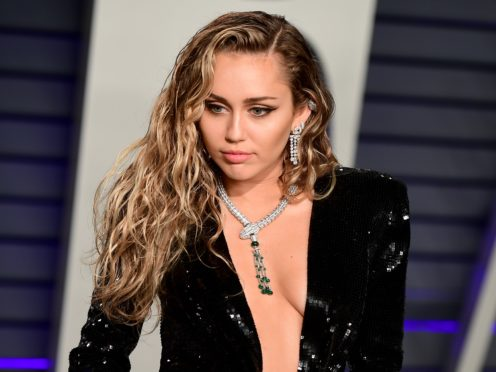 Miley Cyrus has received support from celebrities including Madonna after dismissing claims she had cheated on Liam Hemsworth (Ian West/PA)