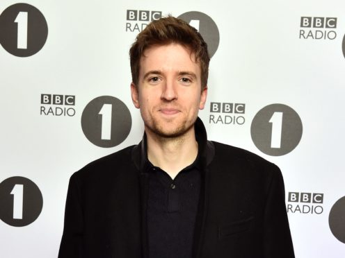 Greg James 'so happy' as his Radio 1 Breakfast Show grows in listeners (Matt Crossick/PA)