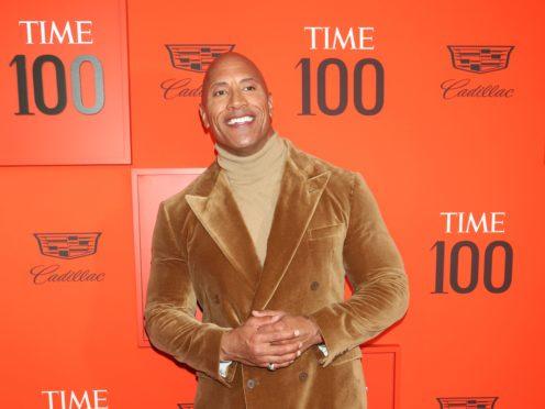Dwayne Johnson is the highest-paid movie star (Greg Allen/PA)
