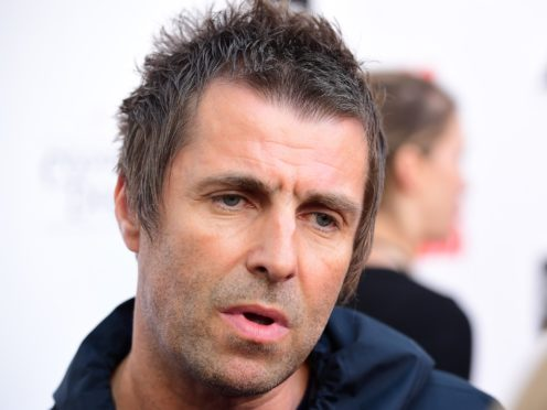Liam Gallagher has used the Definitely Maybe anniversary to mock his brother (Ian West/PA)
