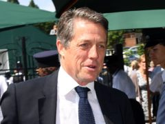 Hugh Grant, who called Boris Johnson an 'over-promoted rubber bath toy' on Twitter (Victoria Jones/PA)