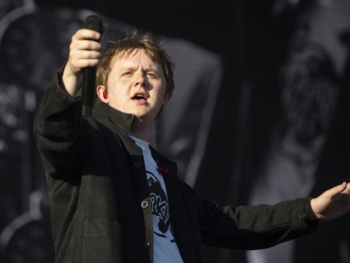 Lewis Capaldi on 'lovers' tiff' with Noel Gallagher: He loves me now (Lesley Martin/PA)