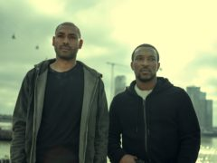 Kane Robinson and Ashley Walters in the third series of Top Boy (Netflix/PA)
