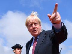 Boris Johnson in Biarritz for the annual G7 summit (PA)