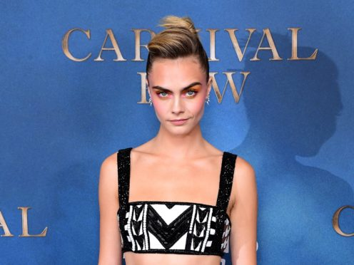 Cara Delevingne attending the London screening of Carnival Row (Ian West/PA)