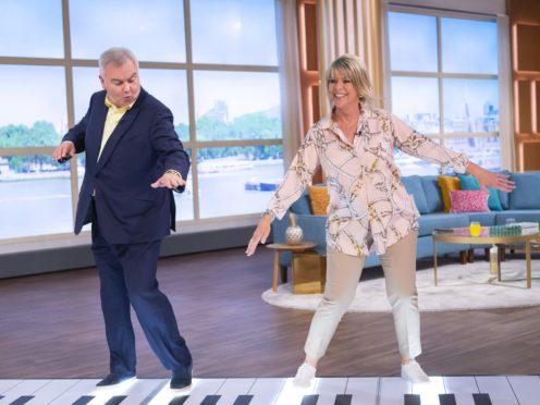 Eamonn Holmes and Ruth Langsford (Ken McKay/ITV/PA)