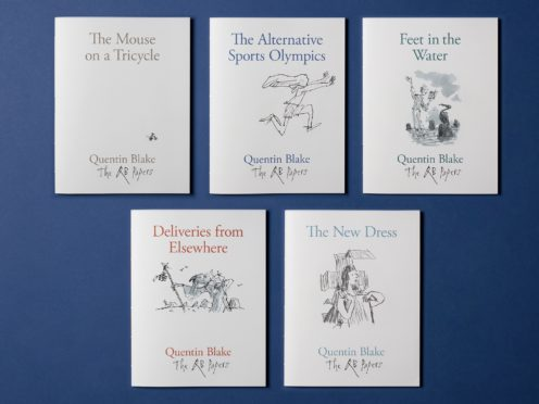The QB Papers will be published over a period of a year (Sir Quentin Blake)