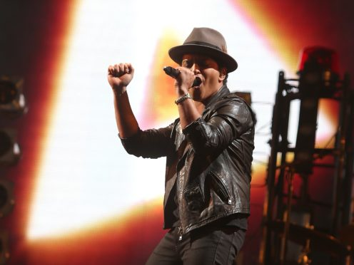 Bruno Mars (Niall Carson/PA)