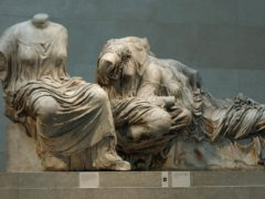 A section of the Parthenon Marbles in London's British Museum (Matthew Fearn/PA)