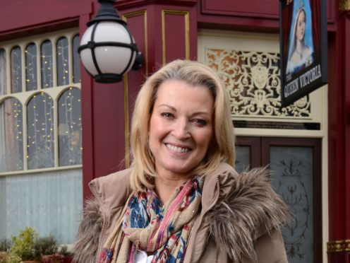 Gillian Taylforth returned to her role as Kathy Beale in EastEnders in 2015 (BBC/PA)