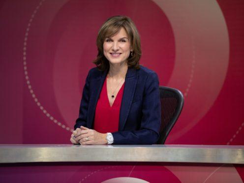 Fiona Bruce (Richard Lewisohn/BBC)