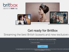 BritBox homepage (ritBox/PA)