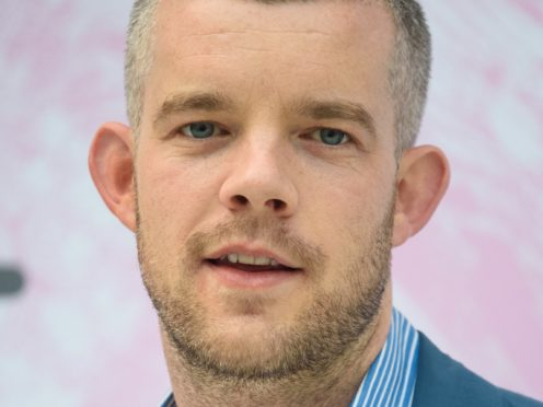 TV star Russell Tovey at the opening of an exhibition in Margate, where he has organised an arts ???treasure hunt???, featuring 2.6 million baked beans and a giant inflatable Tina Turner head.