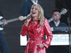 Kylie Minogue (Yui Mok/PA)