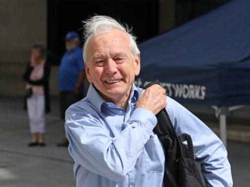 John Humphrys outside New Broadcasting House (Jonathan Brady/PA)