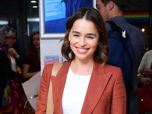 Emilia Clarke at the press night for What Girls Are Made Of at the Soho Theatre in London (Ian West/PA)
