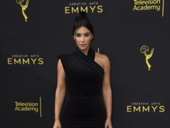 Kim Kardashian West said she wanted to help other sufferers as she opened up on her battle with the skin condition psoriasis (Jordan Strauss/Invision for the Television Academy/AP)