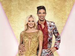 David James with his dance partner Nadiya Bychkova (Ray Burmiston/BBC)